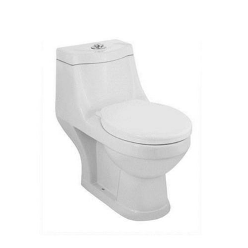 Jaquar White Single Piece Wc Continental Sanitaryware Cns