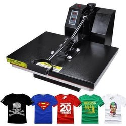 Multicolor T-Shirt Printing Machine, Automation Grade: Semi-Automatic