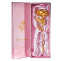 Golden Rose Gift With Carry Bag