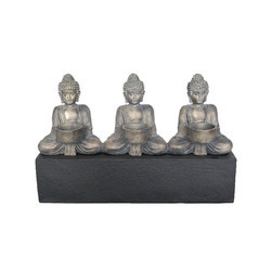 Buddha 3 Tea Light Candle Holder