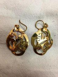 Brass Designer Earring