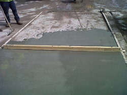Screeding For Repairing Concrete Roads