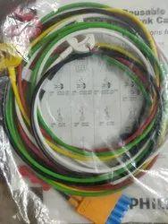 Philips 5 Lead M1971A Ecg Lead Set