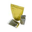 Clear And Gold Stand Up Pouches