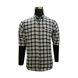 Mens Casual Wear Check Shirt