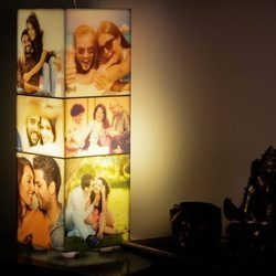 Personalized Tower Photo Lamp