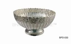 Pure Silver Punch Bowl