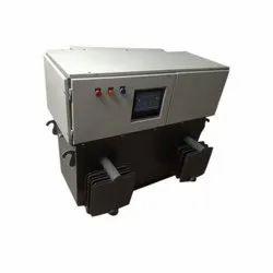 98.01 % Iron Three Phase Servo Controlled Voltage Stabilizer, 340 To 480 V, 15 Kw