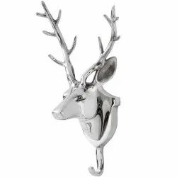 Aluminium Wall Mount Deer Hook Stag Hook