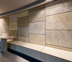Plain Acoustic Room Fiber Wall Panel