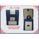 Plain Jute Bag Folder, Capacity (kilogram): 5-10 Kg