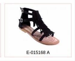 Leather Women Footwear E-015168 A
