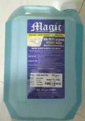 Magic Hand Sanitizer 5 Ltr can