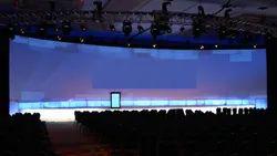 24 Panel LED Wall