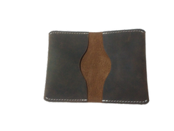 Buffalo Leather Card Case