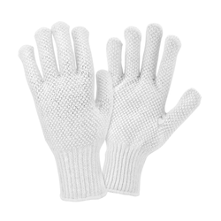 Dotted Knitted Gloves
