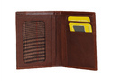 Leather Trifold Mens Wallet