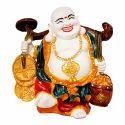Black Shiny Look Lord Budhha Idol or Statue Gift Item