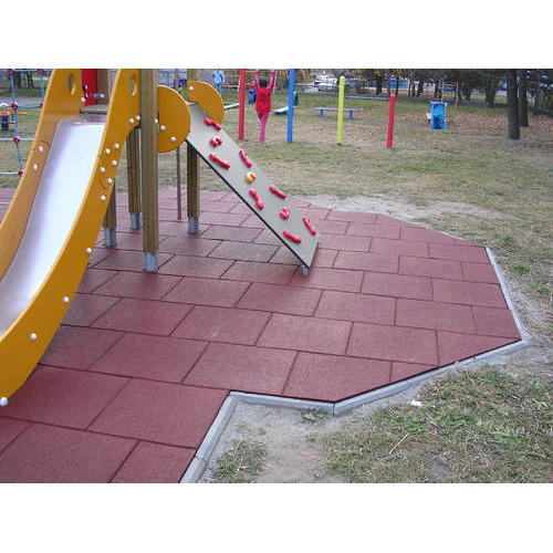 Swastik Rubber Multicolour Outdoor Playground Rubber