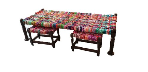 Wooden Charpai Manji Daybed