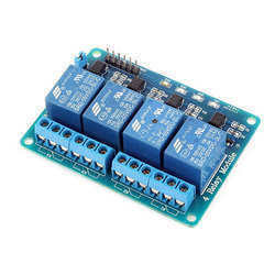 4 Channel 5v and 12V Relay Control Board Module