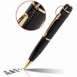 Black Spy Pen Camera HD version, For Security, CMOS