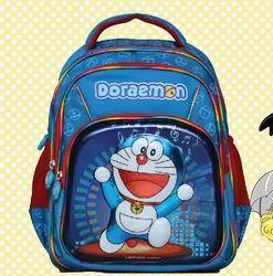 Printed Polyester Kids Bag, For School, Capacity: 6 Liter