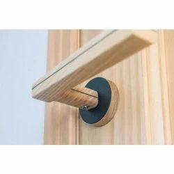 Wooden Door Lever Handle
