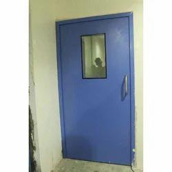 Steel Control Room Door