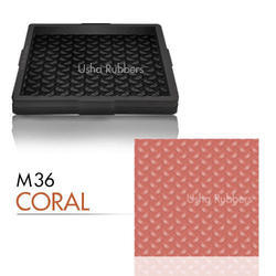 M36 Paving Tiles Rubber Mould