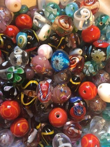 plain lampwork glass bead kit