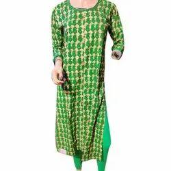 Casual Wear Full Sleeves Ladies Printed Kurti