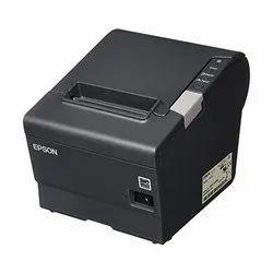 Black and White Portable TM-T88V Epson Barcode Printer