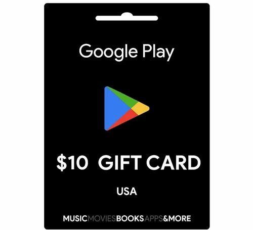 10 dollar gift card google play