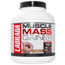 Labrada Muscle Mass Gainer 3Kgs, Packaging Type: Bottle