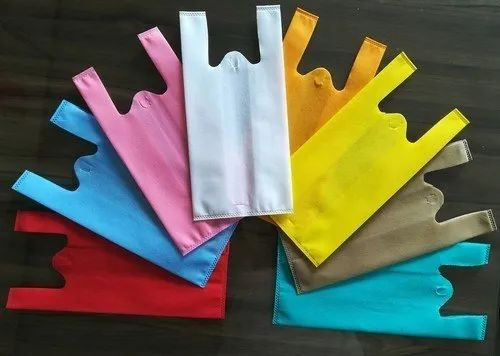 W Cut Non-Woven Bag for Shopping