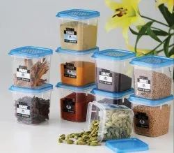 Square Plastic Containers