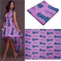 African Real Wax Print Kitanga, Kitenges Fabric, Gsm: 100-150, Use: Footwear