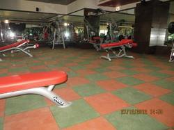 500 Square Feet Gym Flooring Services