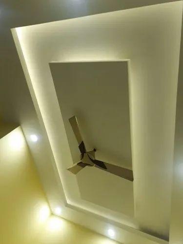 POP False Ceiling at Rs 100/square feet   pop ceiling work ...