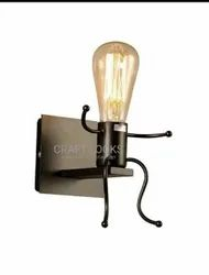 Craft Looks Iron Wall Lamp, For Home Decoration, 5 W