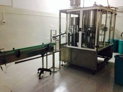 pack tech Mineral Water Triblock Rinser Filler Capper Machine, Capacity: 40 Bpm To 150 Bpm, 7.5