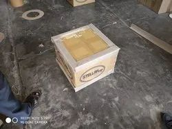 White Kraft Paper Corrugated Boxes, For Apparel, Ply: 7