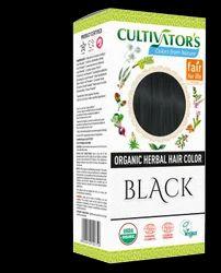 Organic Herbal Hair Color - Black