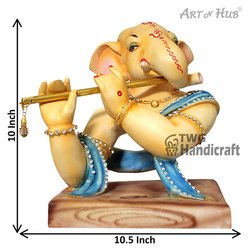 Lord Ganesha Statue Musical Ganesha Showpiece