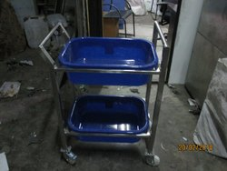 Cleaned Plate Trolley