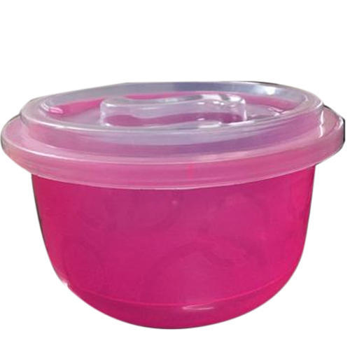 Pink Plastic Kitchen Container
