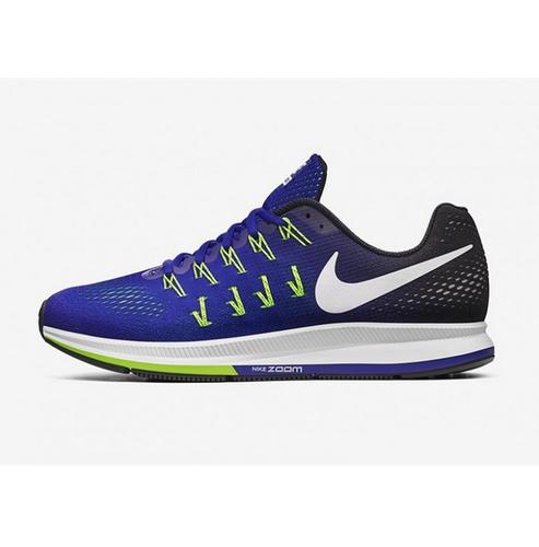 Nike Air Zoom Pegasus 33 Royal Blue Running Sport Shoes