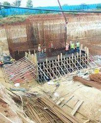 Concrete Frame Structures Building Construction Project