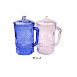 Milestone Multicolor Plastic Water Jug, For Home, Capacity: 1.5 Ltr